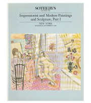 Katalog aukcyjny - Impressionist and Modern Paintings and Sculpture, Part I