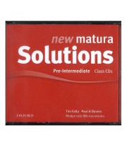 New Matura Solutions Pre-Intermediate Class Audio CDs