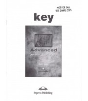 Advanced Grammar and Vocabulary. Key