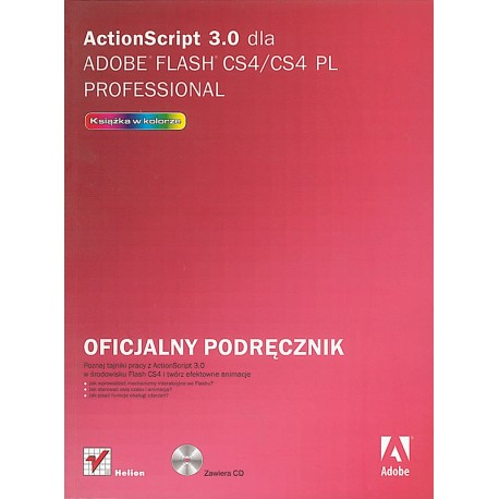 ActionScript 3.0 dla Adobe Flash Cs4/cs4 Pl Professional