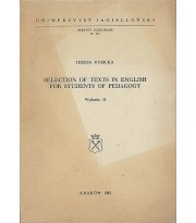 Selection of English Texts for Students of Pedagogy