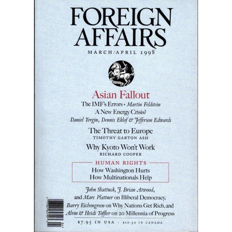 Foreign Affairs, March/April 1998