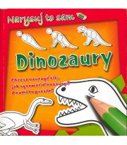 Dinozaury. Narysuj to sam