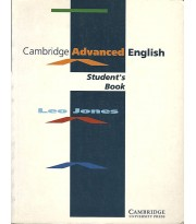 Cambridge Advanced English Student's Book
